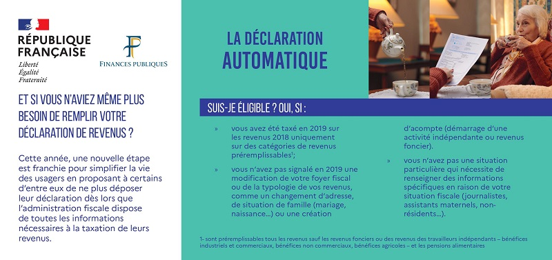 declaration impots automatique 1