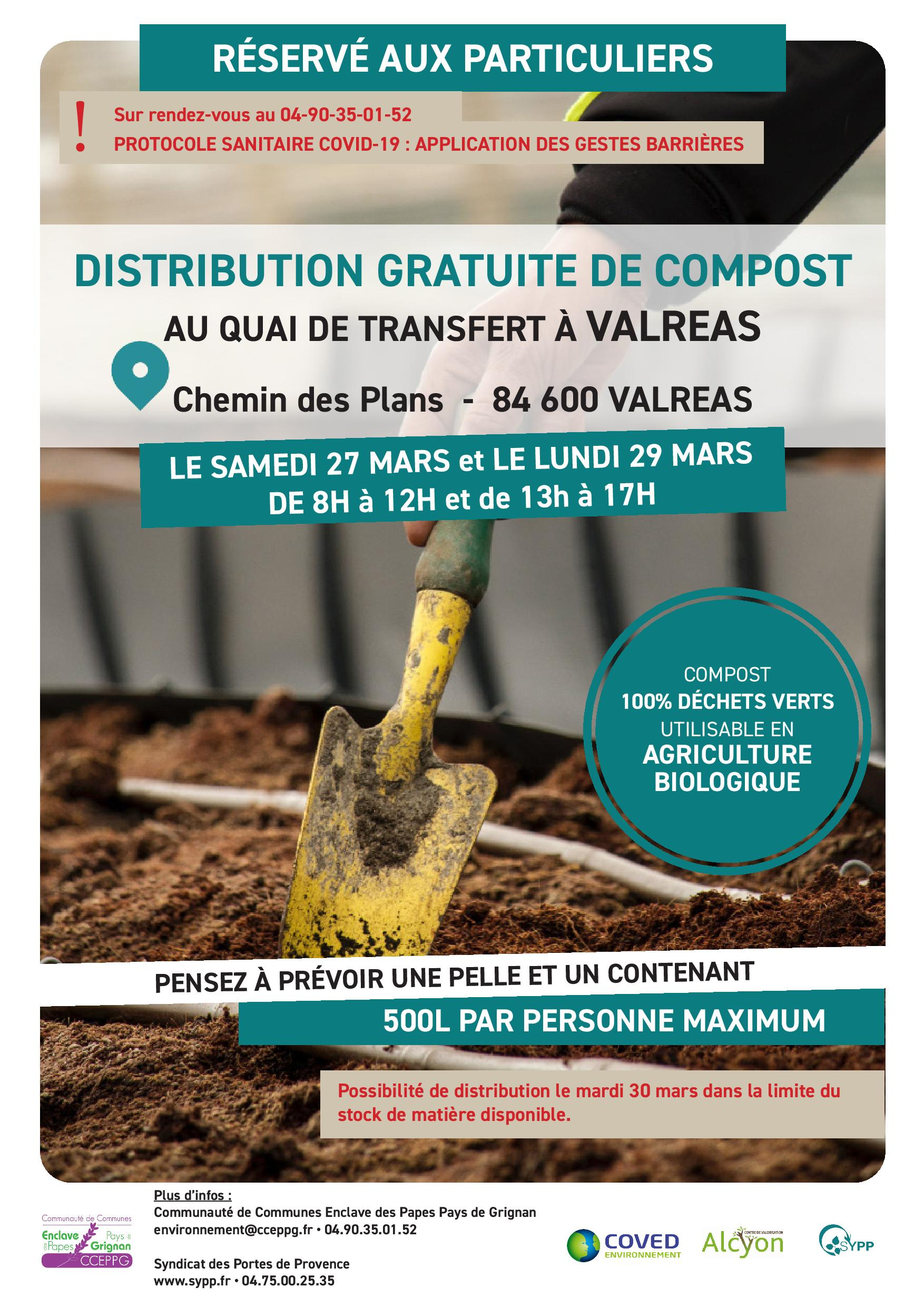 Distribution compost 2021